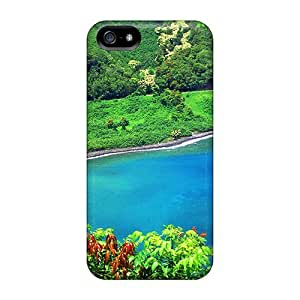 Fashionable Gmd50HNAv Iphone 5/5s Cases Covers For Blue Water Protective Cases