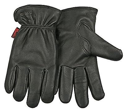 Kinco Men's Heatkeep Thermal Lined Grain Deerskin Leather Gloves Work