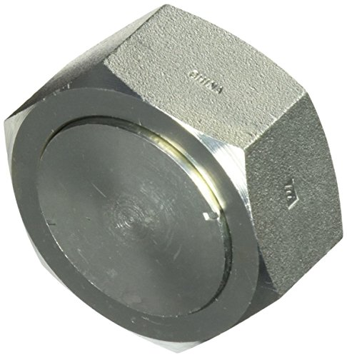 (Brennan Industries FS0304-C-24 Steel Cap Assembly Insert for O-Ring Face Seal Fitting, 1-1/2
