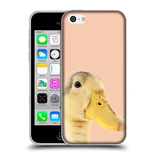 GoGoMobile Coque de Protection TPU Silicone Case pour // Q05760604 Caneton Albicocca // Apple iPhone 5C