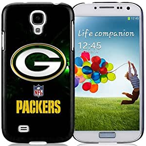 Unique Galaxy S4 Case Design with Green Bay Packers Samsung Galaxy S4 SIV S IV I9500 I9505 Black Cell Phone Case
