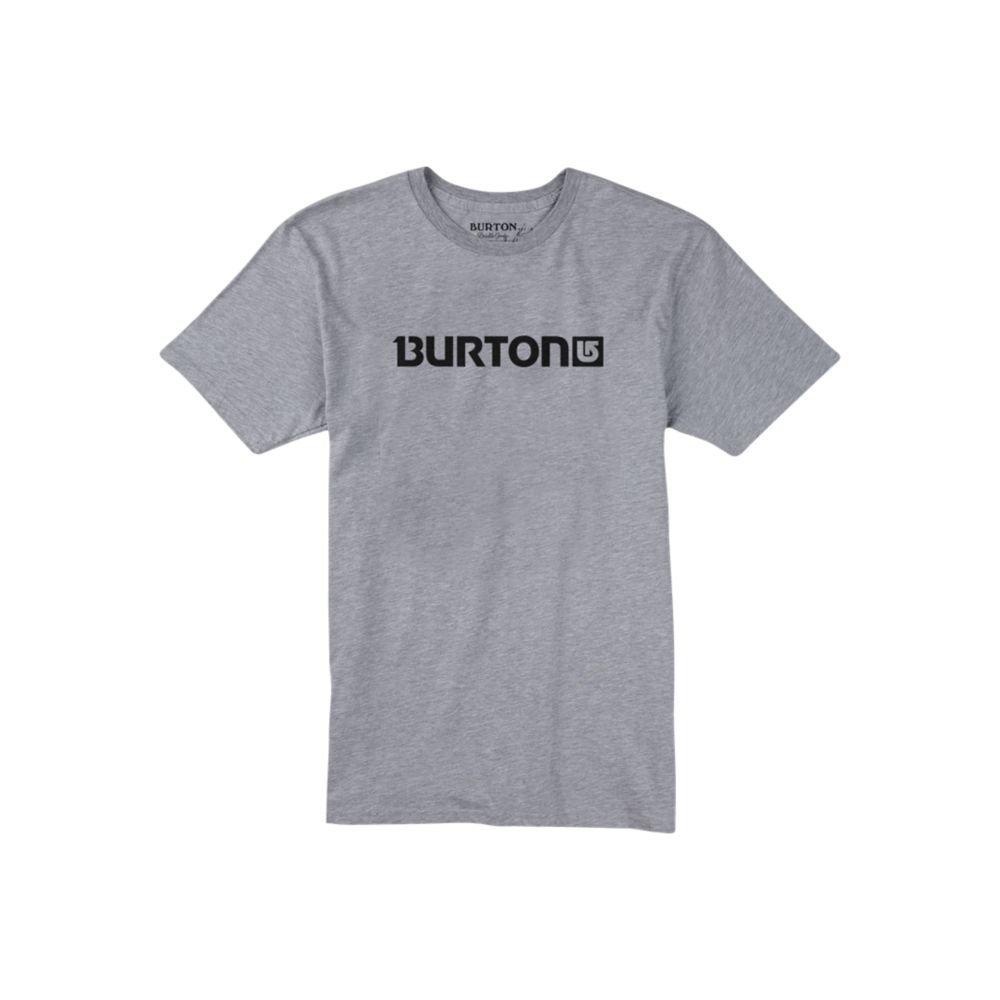 Burton Men's Logo Horizontal Short Sleeve Tee Burton Snowboards 17391100-S