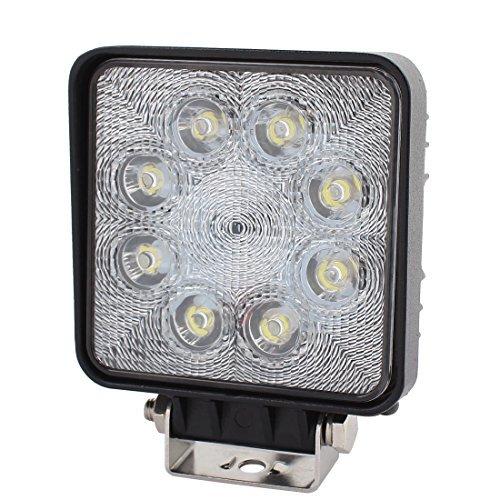 DealMux 24W DC 9V-30V 8 Lâmpada LED Spotlight Lâmpada de Trabalho para Iluminação Truck Car Salão by DealMux