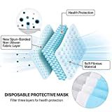 50 Pieces - 3-Ply Disposable Procedural Face Mask