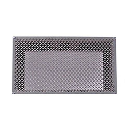 Tjernlund 950-8303 UnderAire Steel Crawl Space Vent, Morning Star Pattern, 18