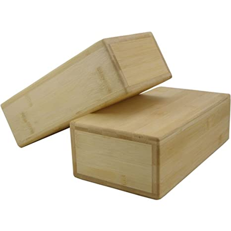Yoga-Mad YBRBAMBO - Ladrillo de Yoga, Bambú, Hueco, 1 unidad