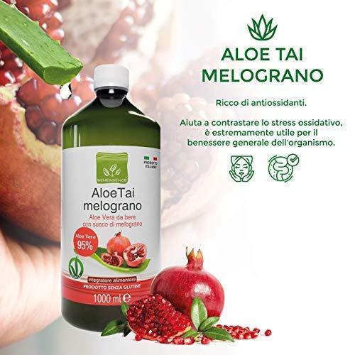 Succo di Aloe Vera e Melograno - 3L 3