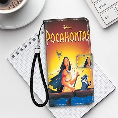 DISNEY COLLECTION Pocahontas Film Leather Folio Flip Case for iPhone 6S iPhone 6 4.7 Version Nice]()