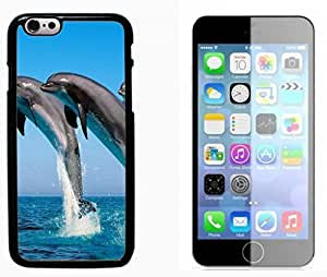 Dolphins Hard Plastic and Aluminum Back Case FOR Apple iPhone 6 6G 4.7 by mcsharks