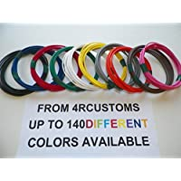 Automotive Copper Wire, TXL, 18 GA, AWG, GAUGE Truck, Motorcycle, RV, General Purpose. Order by 3pm EST Shipped Same Day (10 Colors 25 Each) (10 COLORS BY 25 EACH)
