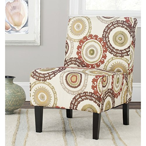 Safavieh Mercer Collection Stella Armless Club Chair (Armless Club Chair)
