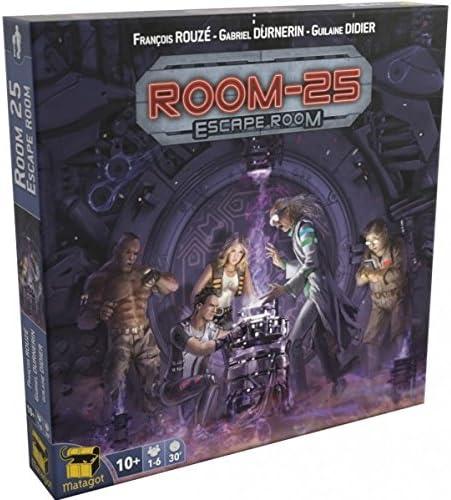 Asmodee- Juego de Tablero 25: Escape Room (MATSROO4): Amazon.es ...