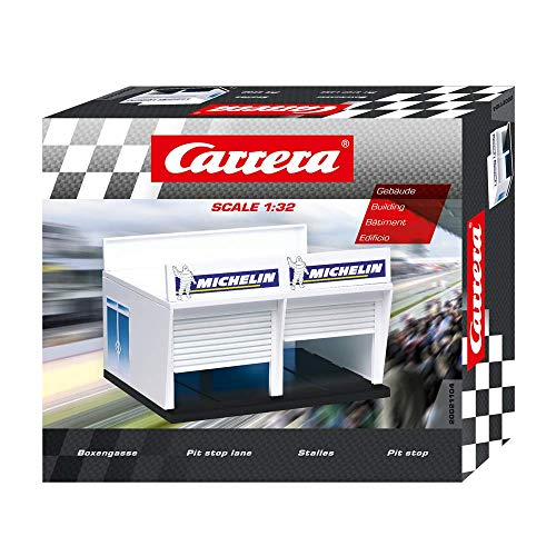 Carrera Pit Stop Lane Double Garage Building 1:32 scale 21104 from Carrera