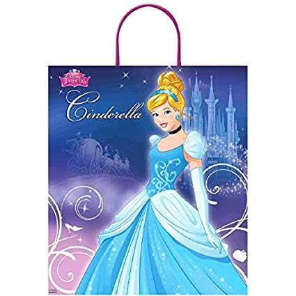Amazon.com: Amscan Disney cumpleaños Pretty Cenicienta botín ...