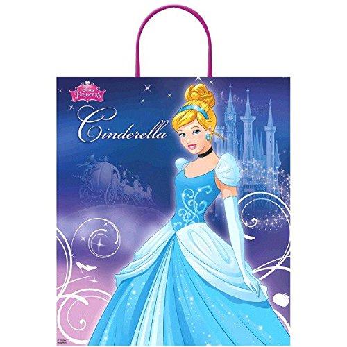 [Amscan Disney Birthday Pretty Cinderella Loot Bag Party Favour, Multicolor, 16