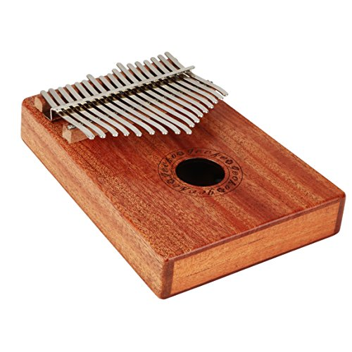CYC Music Kalimba Thumb Piano 17 Keys Made of Mahogany Solid wood -Natural Color by CYC Music