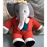 "Babar Elephant 15"" Plush Doll Toy"