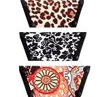Onesole Women's Leopard Damak Triple Combo Shoes,Leopard,L M