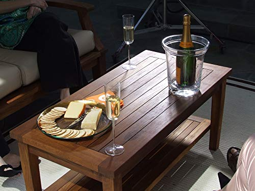 Home Comforts Peel-n-Stick Poster of Cheese Wine Teak Coffee Table Teak Table Vivid Imagery Poster 24 x 16 Adhesive Sticker Poster Print