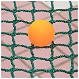 Sports Net,Green Barrier Net Multi-Functional Sports Ball Fence for Sports Clubs,Schools or Gardens,Stairs Balcony Fence Anti-Fall Protective for Kids Pet Plant Decoration Goal Backstop Netting