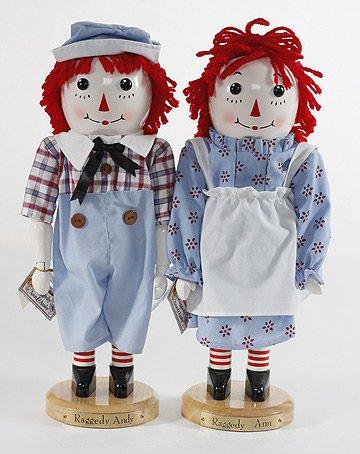 Raggedy Ann Limited Edition - Raggedy Ann & Andy Limited Edition Nutcrackers