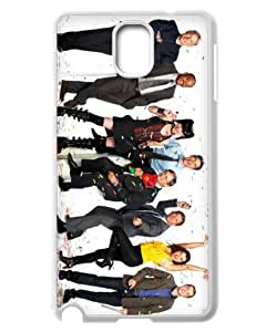 SROUK TV Show Series Design Protective Cases NCIS Plastic Cover Case for Samsung Galaxy Note 3-03