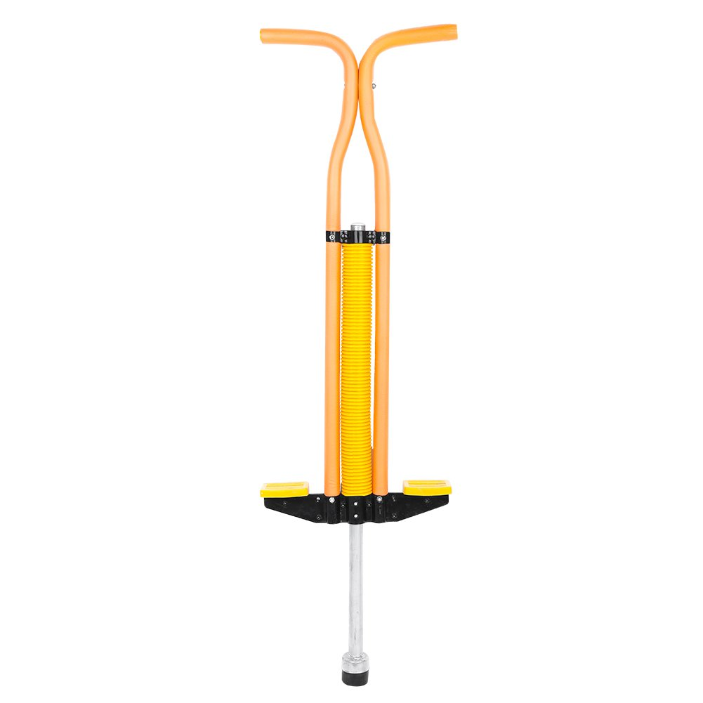 Kids Fun Pogo Stick, Powered Jump Spring Bounce Solid Toy for Boys Girls Practise Exercise Fast Grow Gift