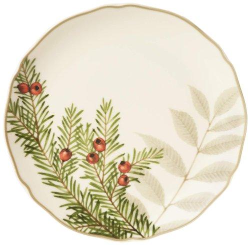 Safe Plates Microwave Noritake - Noritake Berries and Brambles Cake Plate, 7-Inch
