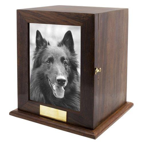 Custom Wood Personalized Engraved Pet Urn (X-Large)