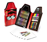 Crayola Tip Tool Kit, Scarlet, 40 Art Tools and Paper, Tip Character Case, Makes a Great Gift!