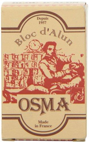 Shaving Factory Osma Bloc - Alum Block (Soothes Shaving Irritation), 1er Pack (1 x 75 g)