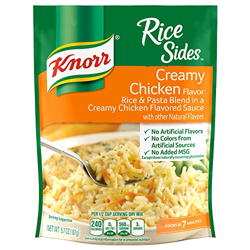 Knorr Rice Side Dish, Creamy Chicken, 5.7 oz, 8-Count