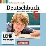 Deutschbuch 5. Schuljahr. Übungs-CD-ROM zum Arbeitsheft