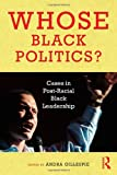 Whose Black Politics?: Cases in Post-Racial Black Leadership, , 0415992168