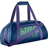Nike Gym Club Womens Training Duffel Bag (One Size, BINARY BLUE/DARK IRIS/TOURMALINE)