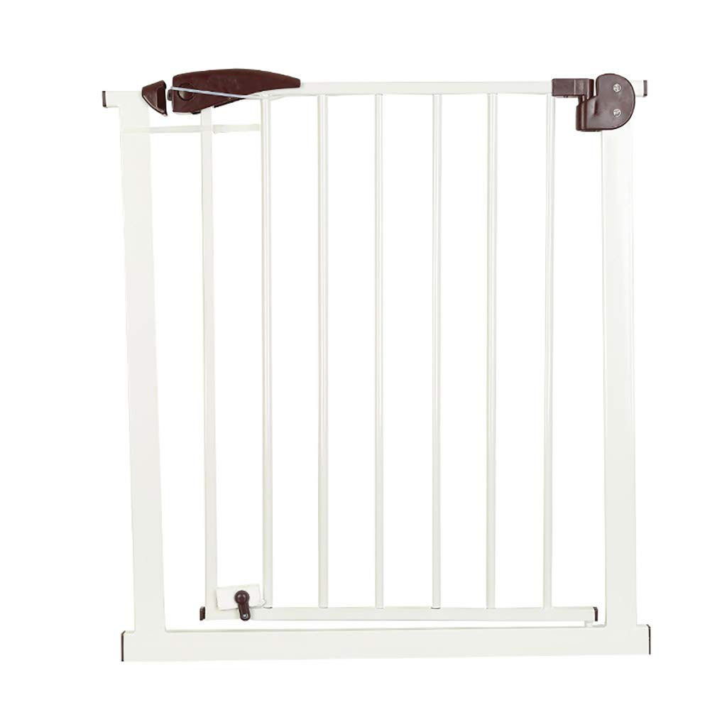 Djyyh チャイルドセーフティドアメタルペットゲートフェンス保護分離ドア、フリーパンチ、高さ76cm (サイズ さいず : 75-82cm) 75-82cm  B07RSBX6ND