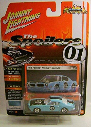 Johnny Lightning Street - 1971 '71 PONTIAC FIREBIRD TRANS AM THE SPOILERS STREET FREAKS JOHNNY LIGHTNING