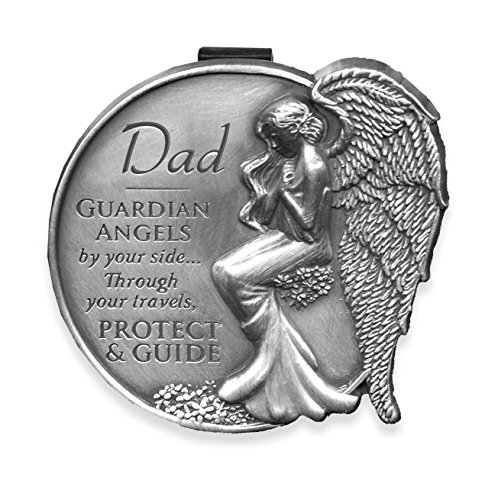 Angelstar 15681 Dad Guardian Angel Visor Clip Accent, (Dad Visor Clip)
