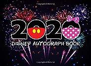 2020 Disney Autograph Book: Disney Vacation Souvenir Character Autograph Book for Boys or Girls - Disney World, Disneyland,