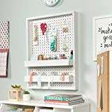 Sauder Craft Pro Series Wall Mounted Pegboard with