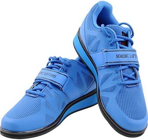 Nordic Lifting Powerlifting Shoes for Heavy Weightlifting - Men's Squat Shoe - MEGIN 1 Year Warranty