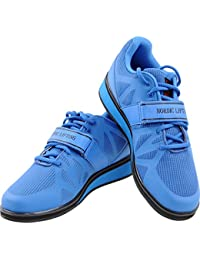 Powerlifting Shoes for Heavy Weightlifting - Men's Squat Shoe - MEGIN by 1 Year Warranty