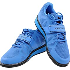 Bodybuilding POWERLIFTING SHOES - DESIGNED FOR MAXIMUM SUPPORT AND TO INCREASE LIFTING OUTPUT Nordic Lifting Offers Premium Accessories for Weightlifting Workouts - Carefully crafted with premium Quality Materials and Reinforced Stitching- St...