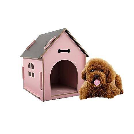 YNZYOG Casa De Mascotas Al Aire Libre Villa De Perrera De ...