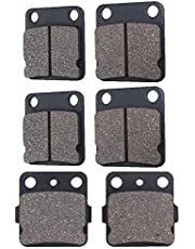 Sportrax 300 1993 1994 1995 1996 1997 1998 1999 2000-2009 Cyleto Front and Rear Brake Pads for Honda TRX300EX TRX 300EX Fourtrax