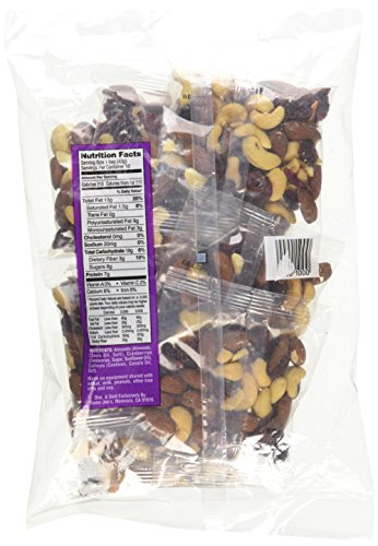 Trader Joe's Just A Handful of Simply The Best Almonds, Cashews & Cranberries Trek Mix 10 Individual Bags by Trader Joe's (Image #4)