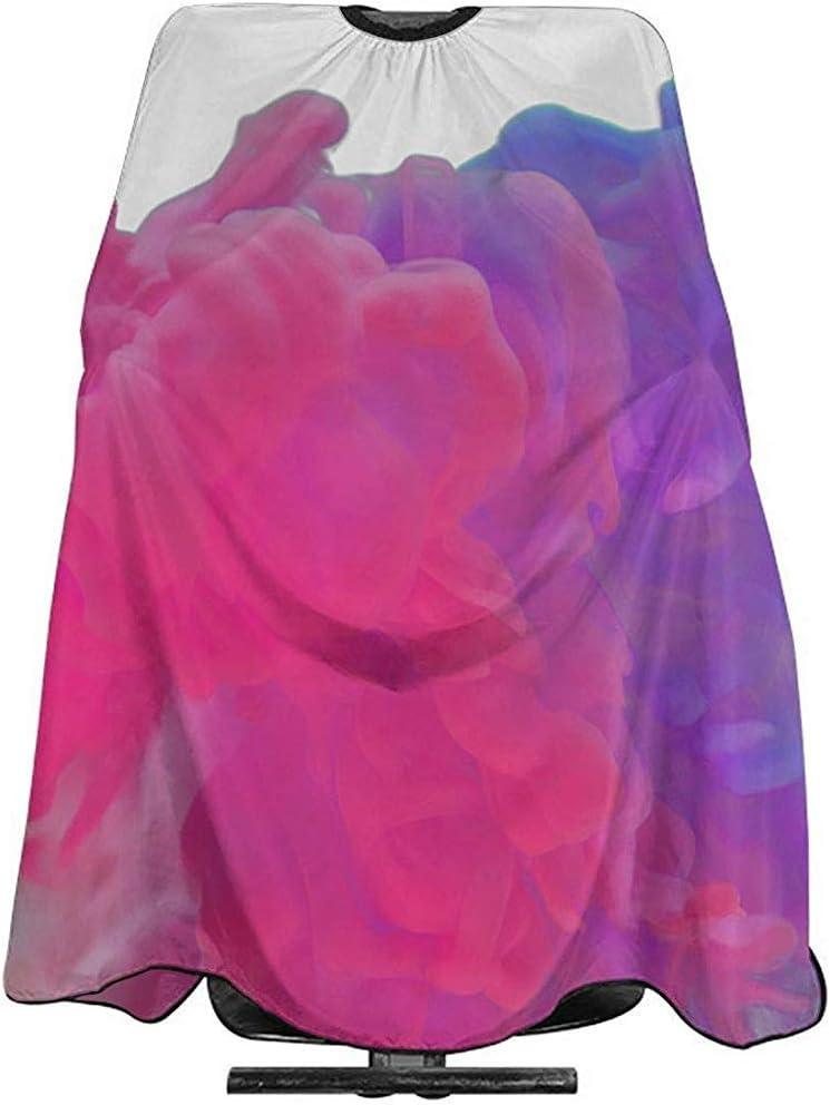 Capa Del Salón Humo Png Rojo Púrpura Corte De Pelo Capa ...