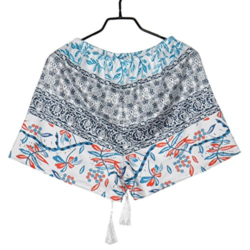 Vita Signore Multicolore Estivi Donna Shorts Sport Da Casual Cotone Vicgrey Alta In Pigiami Estate Pantaloncini q4xIO