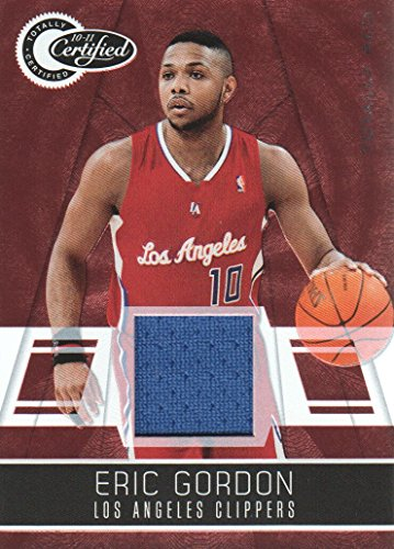 - 2010-11 Totally Certified Red Jersey #31 Eric Gordon /249 LA Clippers