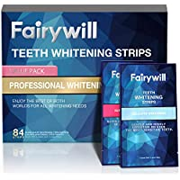 84-Pack Fairywill Express Strips and Professional Teeth Whitening Kits